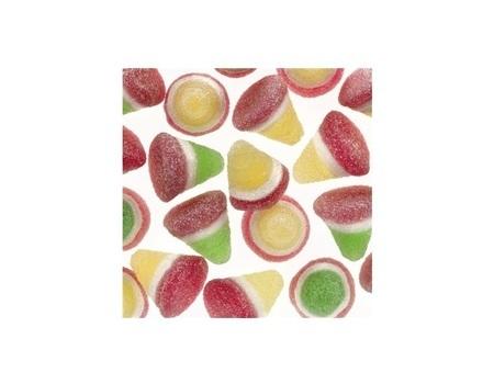 Pyramide fruits tricolores