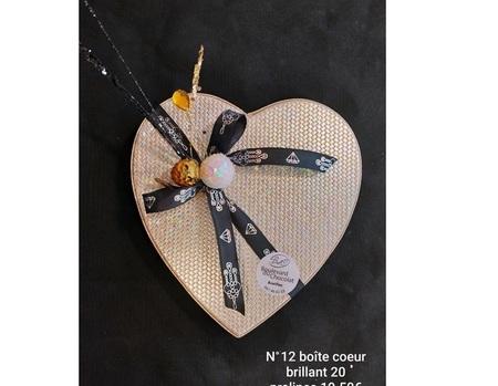 Cœur Brillant N°12. 20 prâlines
