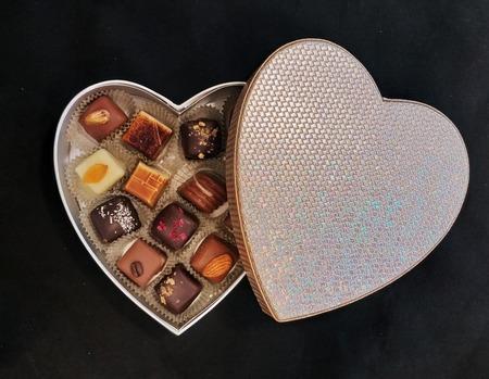 Coeur brillant N°13 14 chocolats