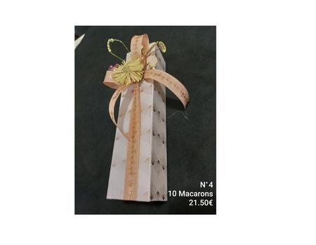 Fourreau N°4/10 macarons