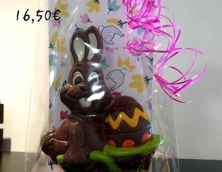Lapin brouette 16.50€