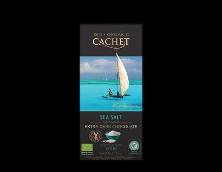 Chocolat extra noir bio 72%   Fleur de sel