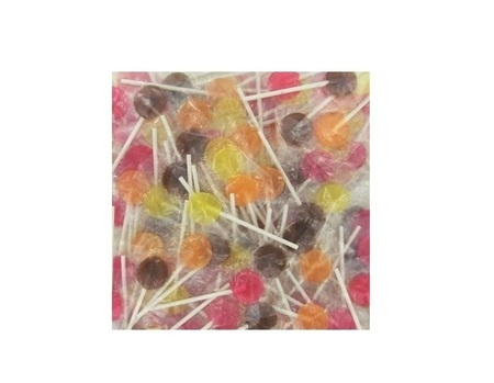 LOLLYWOOD SUCETTES FRUIT 200X5G