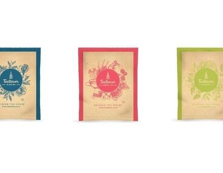 Liberthé. Thé vert parfumé aux pétales de rose & de bleuet